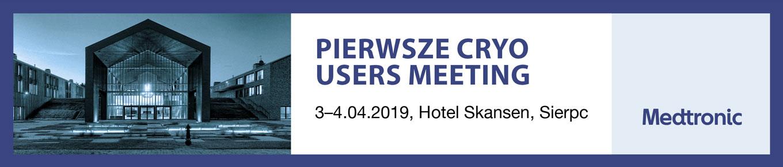 Pierwsze Cryo Users Meeting, 3–4.04.2019, Hotel Skansen, Sierpc
