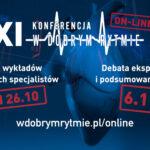 XI Konferencja W Dobrym Rytmie on-line